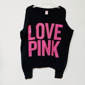 VS PINK Lightweight Pullover Sweatshirt - Sz M